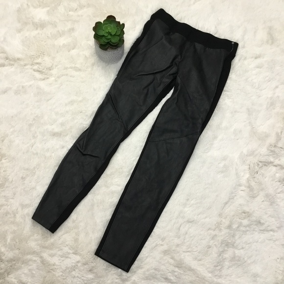 69301a82c8011 CAbi Pants | Vegan Leather Stretch Leggings Sz S 973 | Poshmark